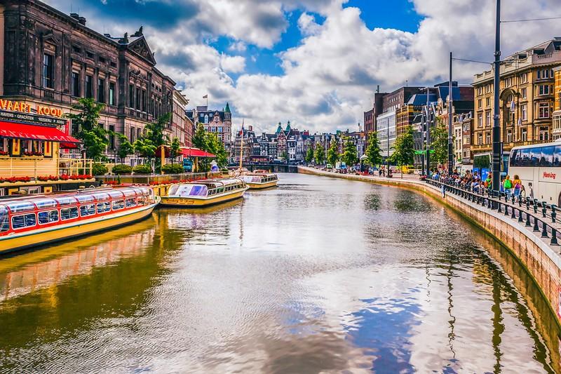 荷兰阿姆斯特丹,城市漫游_图1-5