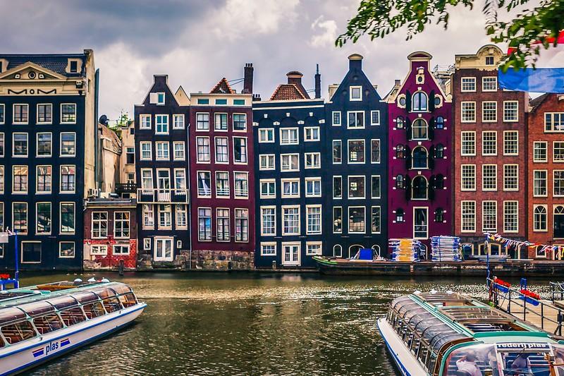 荷兰阿姆斯特丹,城市漫游_图1-1