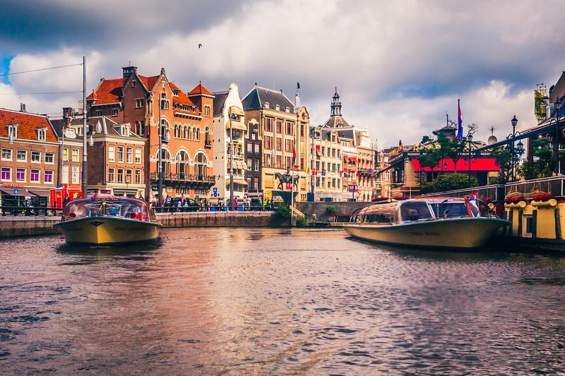 荷兰阿姆斯特丹,城市漫游_图1-2