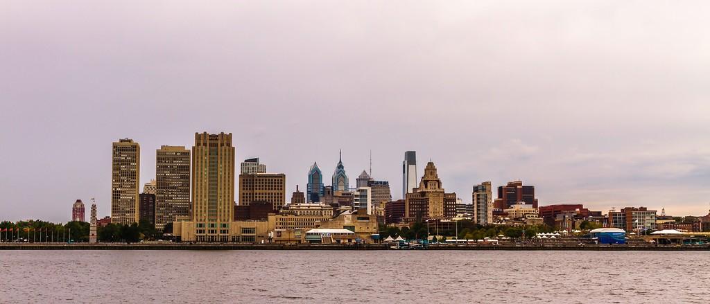 费城Penn's Landing,城市岸景_图1-7