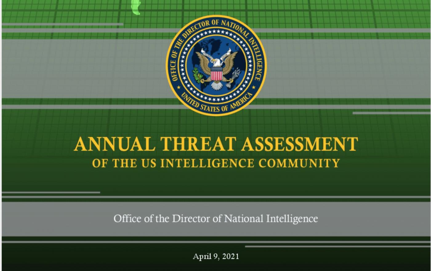 """美国""""威胁评估报告""""中的""""中国威胁""""_图1-1"""