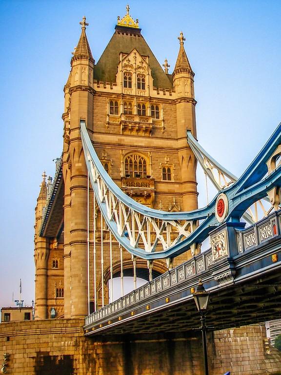 英国伦敦,著名塔桥_图1-10