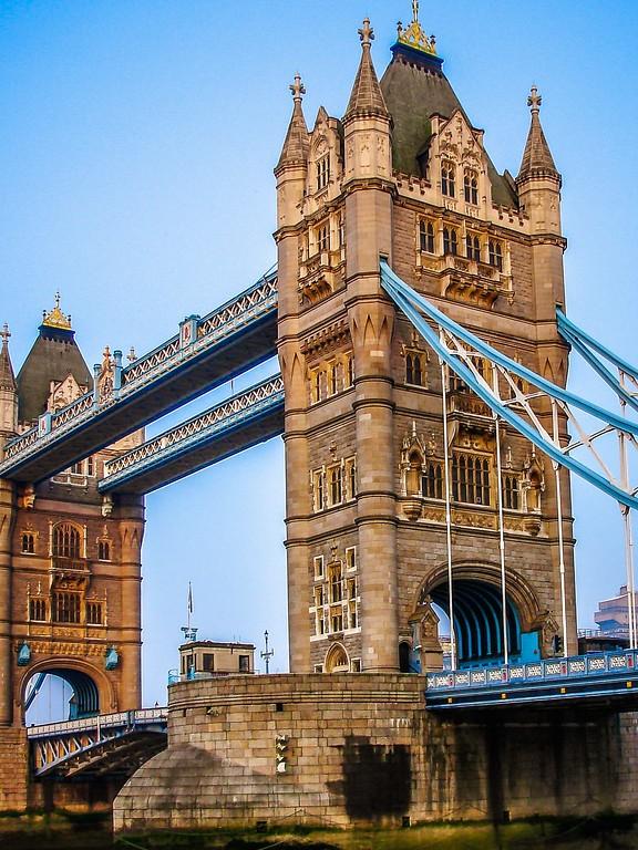英国伦敦,著名塔桥_图1-9
