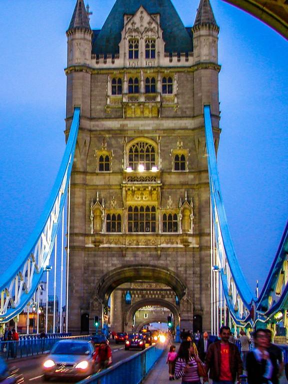 英国伦敦,著名塔桥_图1-6