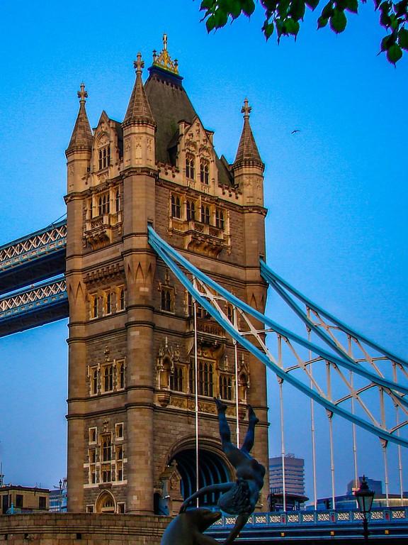 英国伦敦,著名塔桥_图1-4