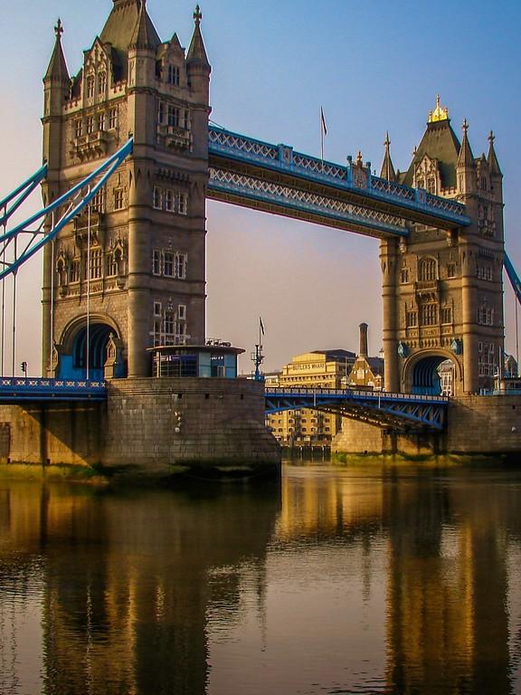 英国伦敦,著名塔桥_图1-5
