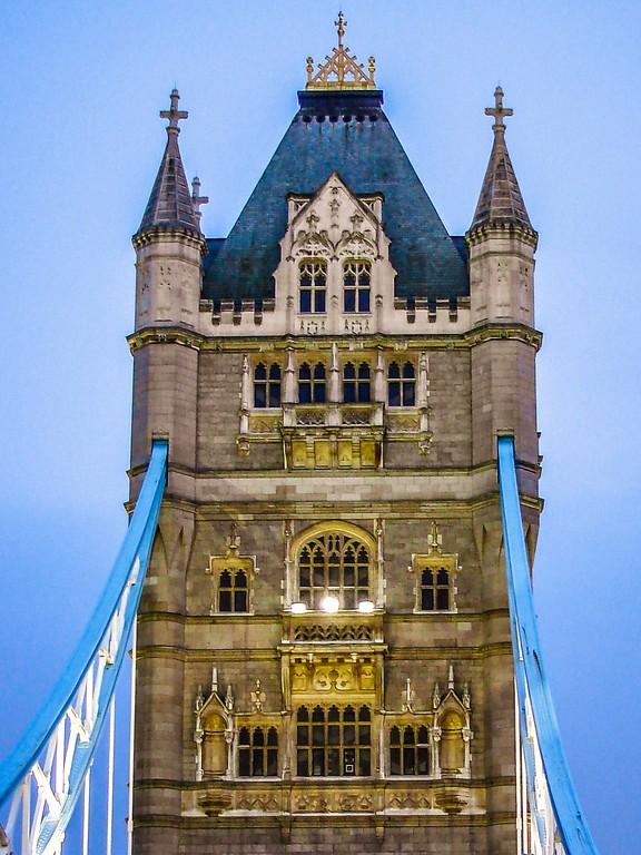 英国伦敦,著名塔桥_图1-2