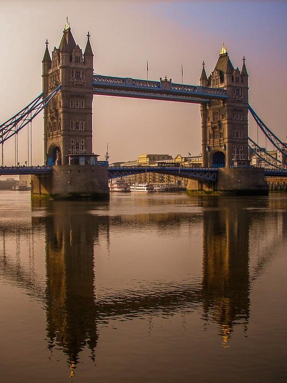 英国伦敦,著名塔桥_图1-1