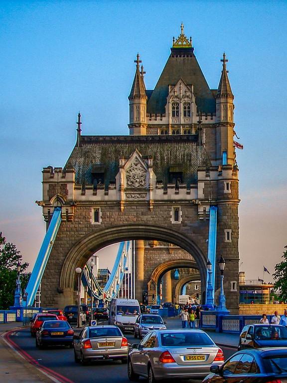 英国伦敦,著名塔桥_图1-7