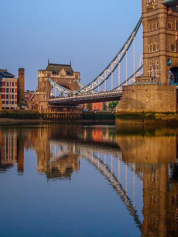 英国伦敦,著名塔桥_图1-3