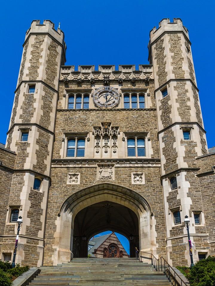 美国普林斯顿大学,有特色的校园建筑_图1-3