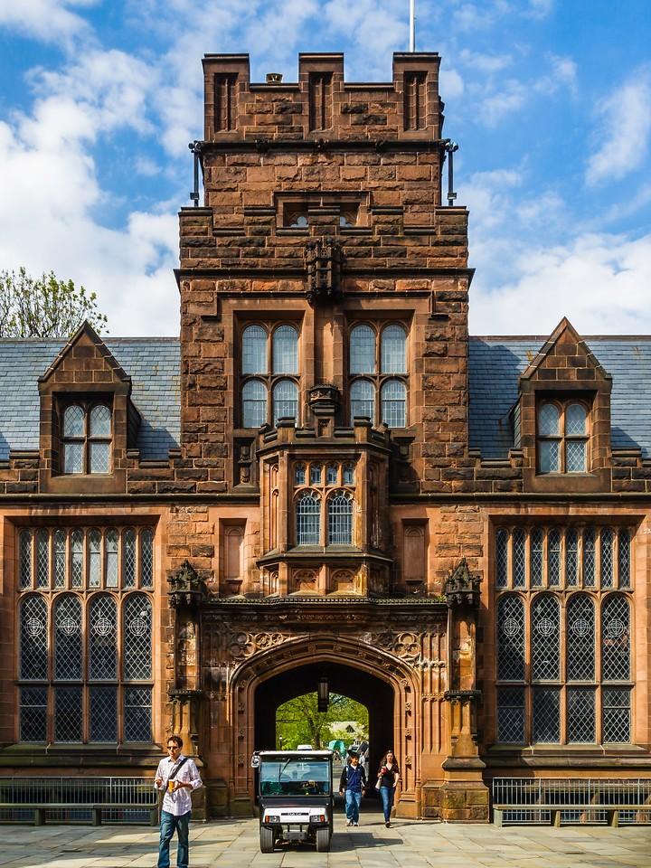 美国普林斯顿大学,有特色的校园建筑_图1-8