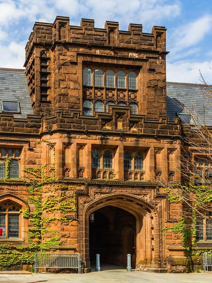 美国普林斯顿大学,有特色的校园建筑_图1-6