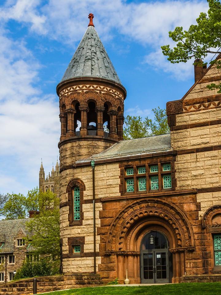美国普林斯顿大学,有特色的校园建筑_图1-5