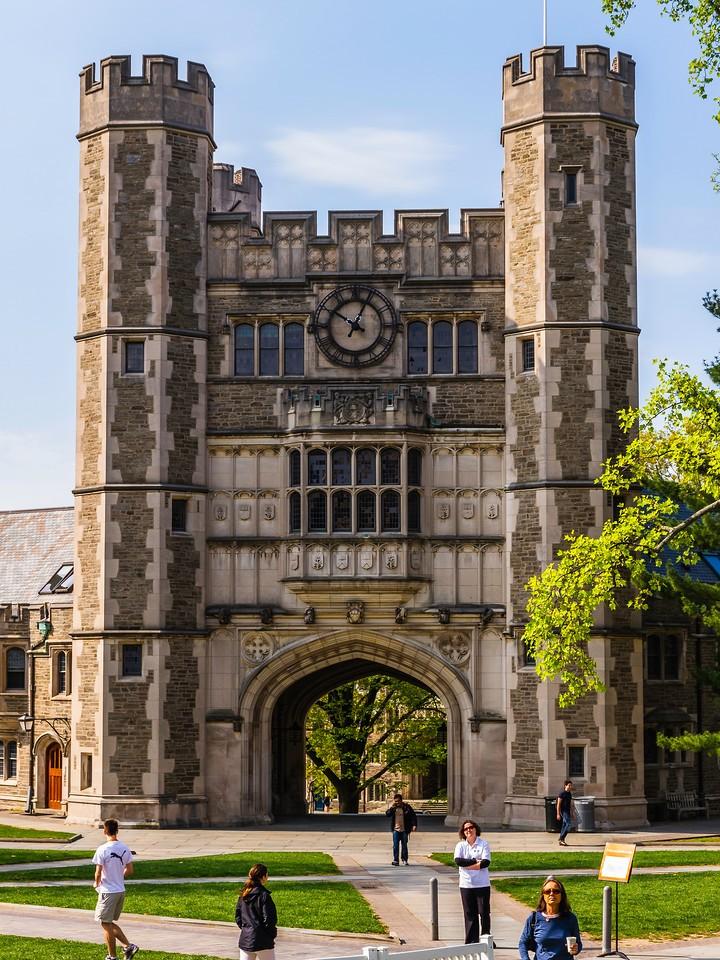 美国普林斯顿大学,有特色的校园建筑_图1-9