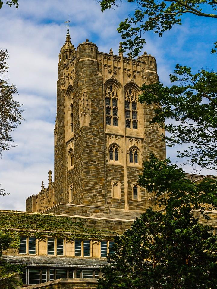 美国普林斯顿大学,有特色的校园建筑_图1-10