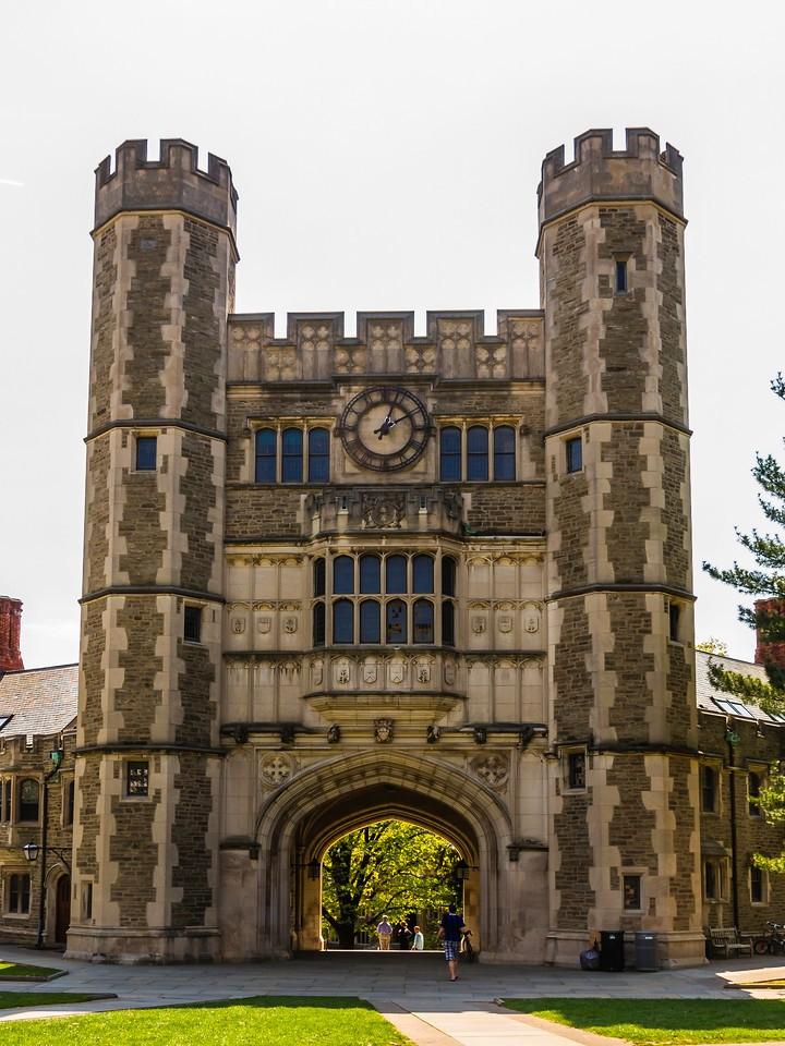 美国普林斯顿大学,有特色的校园建筑_图1-13