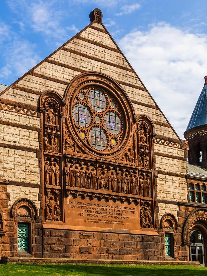 美国普林斯顿大学,有特色的校园建筑_图1-17
