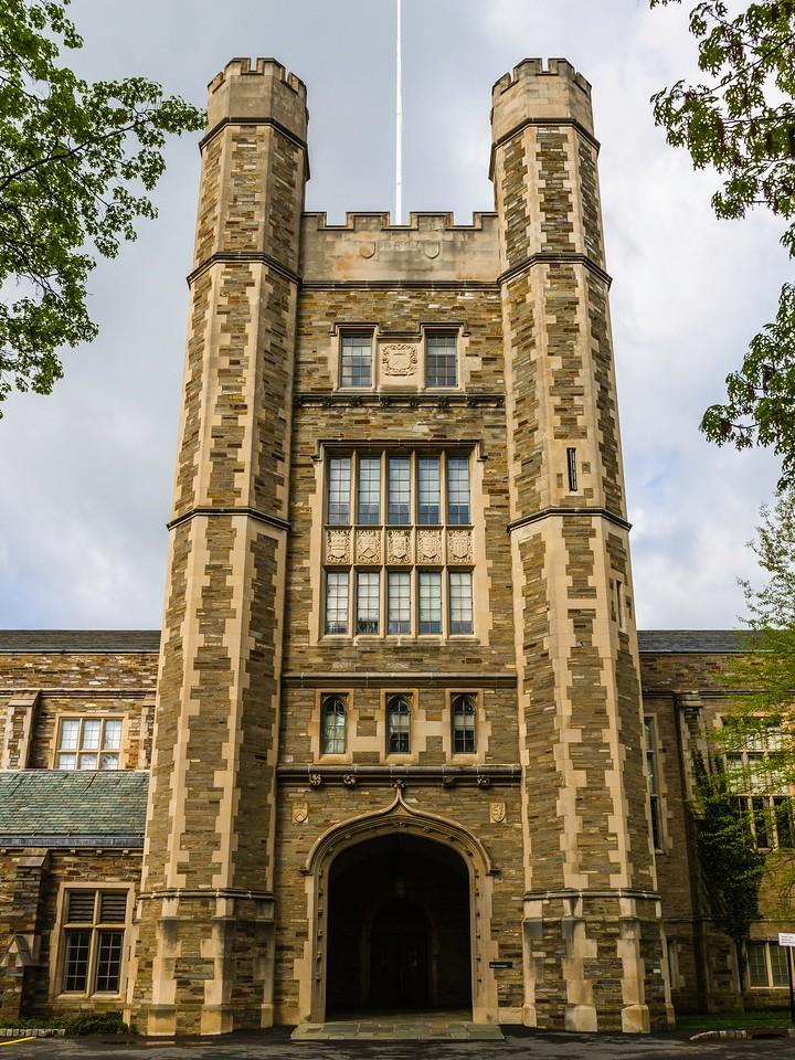 美国普林斯顿大学,有特色的校园建筑_图1-18
