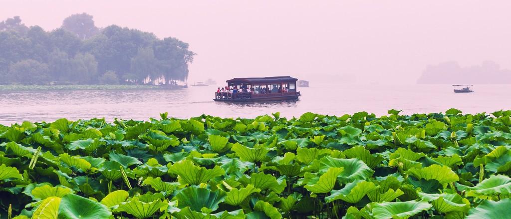 杭州西湖,朦胧景色_图1-4