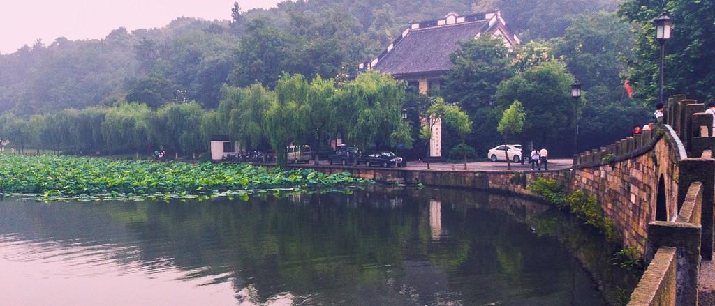 杭州西湖,朦胧景色_图1-11
