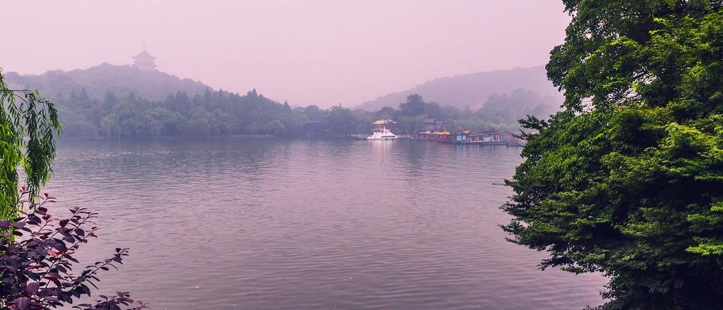 杭州西湖,朦胧景色_图1-7