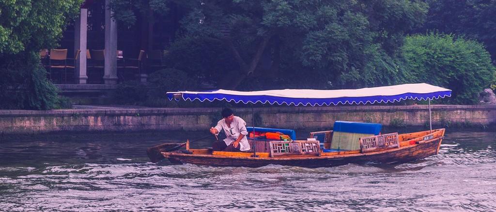 杭州西湖,朦胧景色_图1-6