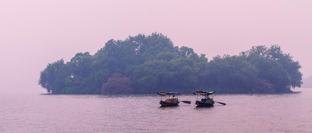 杭州西湖,朦胧景色_图1-10