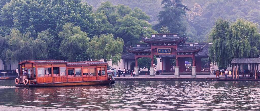 杭州西湖,朦胧景色_图1-8