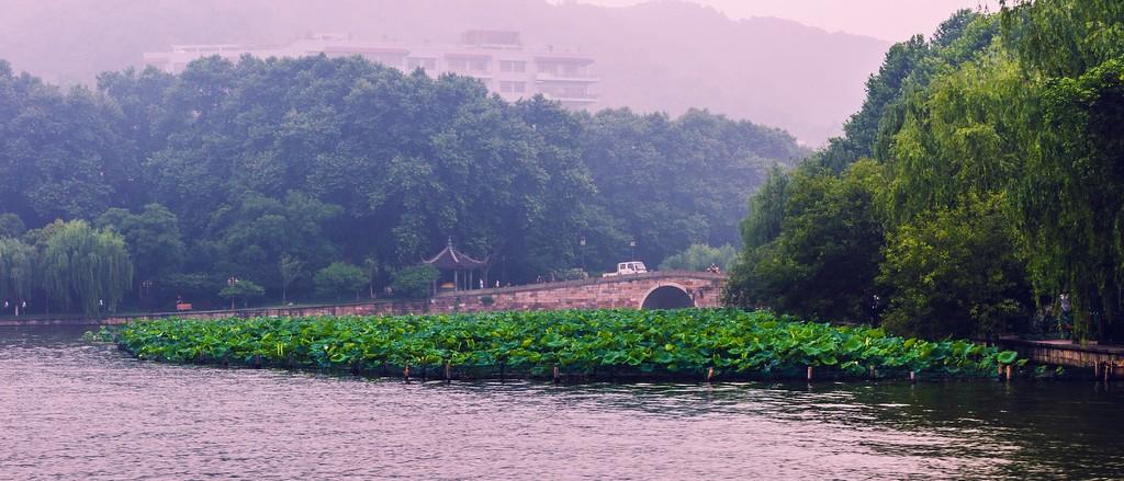 杭州西湖,朦胧景色_图1-9