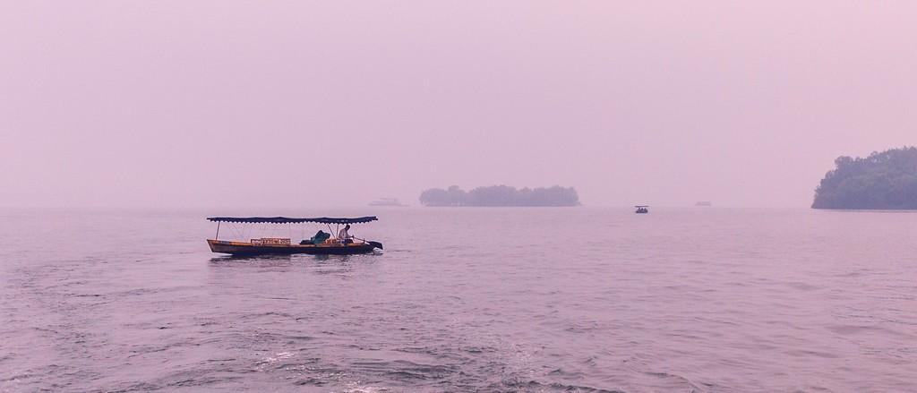杭州西湖,朦胧景色_图1-12