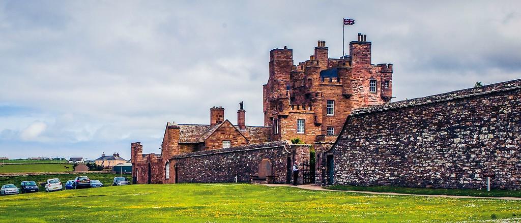 苏格兰梅城堡(Castle of Mey),十六世纪城堡_图1-6
