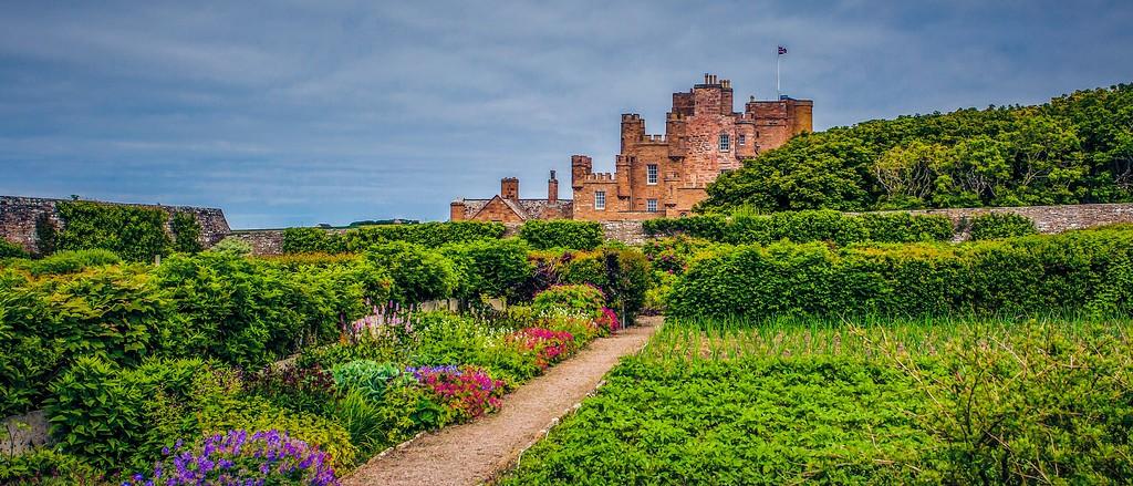 苏格兰梅城堡(Castle of Mey),十六世纪城堡_图1-5