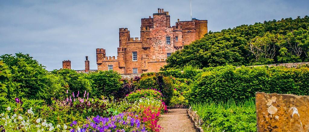 苏格兰梅城堡(Castle of Mey),十六世纪城堡_图1-8