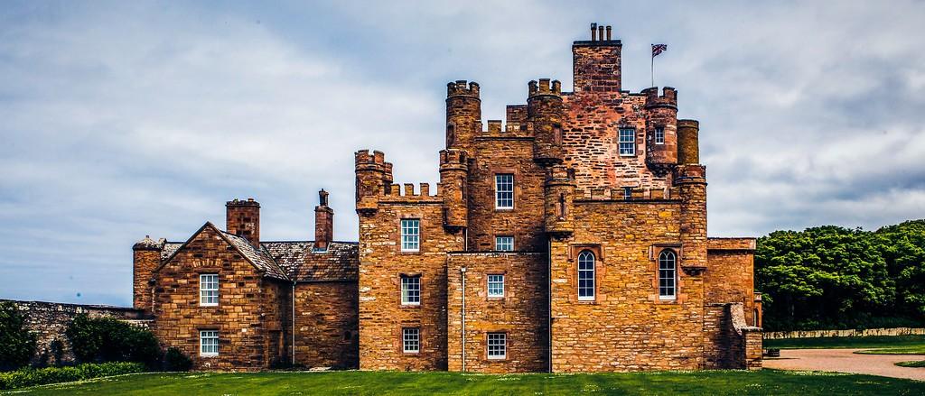 苏格兰梅城堡(Castle of Mey),十六世纪城堡_图1-12