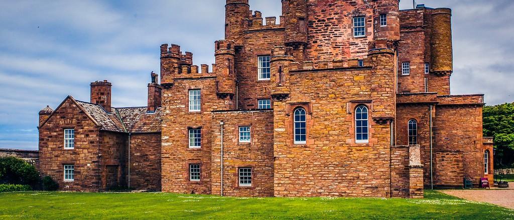苏格兰梅城堡(Castle of Mey),十六世纪城堡_图1-10