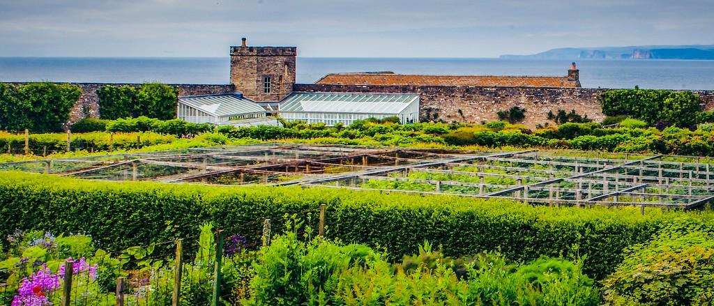 苏格兰梅城堡(Castle of Mey),十六世纪城堡_图1-2
