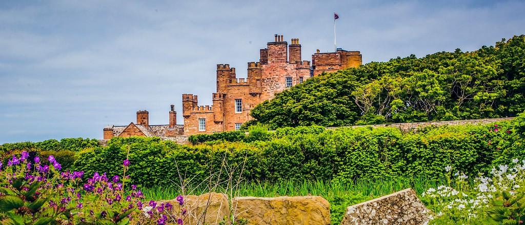 苏格兰梅城堡(Castle of Mey),十六世纪城堡_图1-14