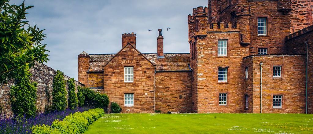 苏格兰梅城堡(Castle of Mey),十六世纪城堡_图1-13