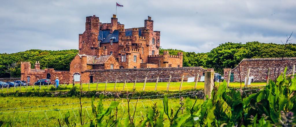 苏格兰梅城堡(Castle of Mey),十六世纪城堡_图1-16