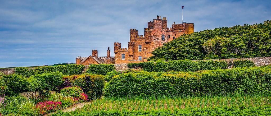 苏格兰梅城堡(Castle of Mey),十六世纪城堡_图1-20