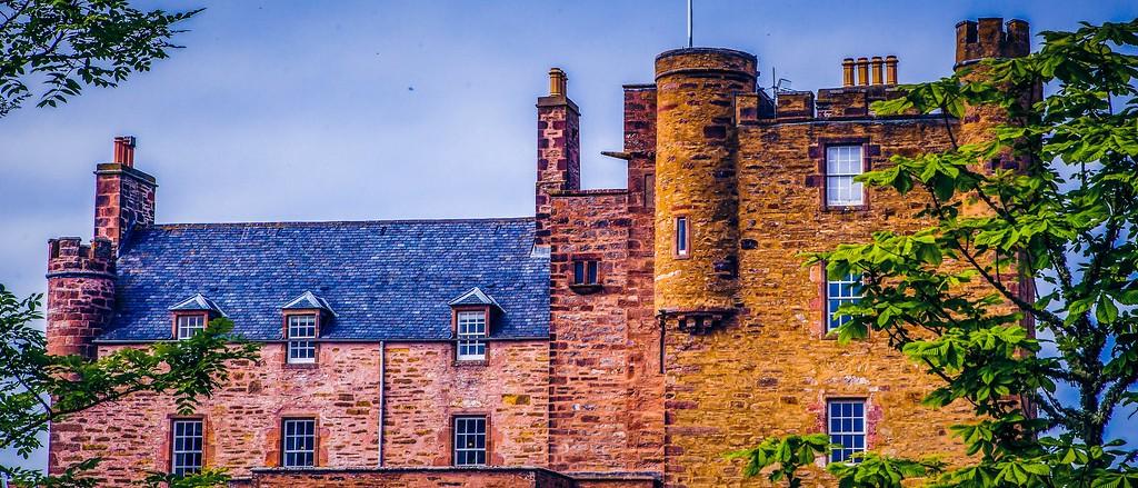 苏格兰梅城堡(Castle of Mey),十六世纪城堡_图1-19