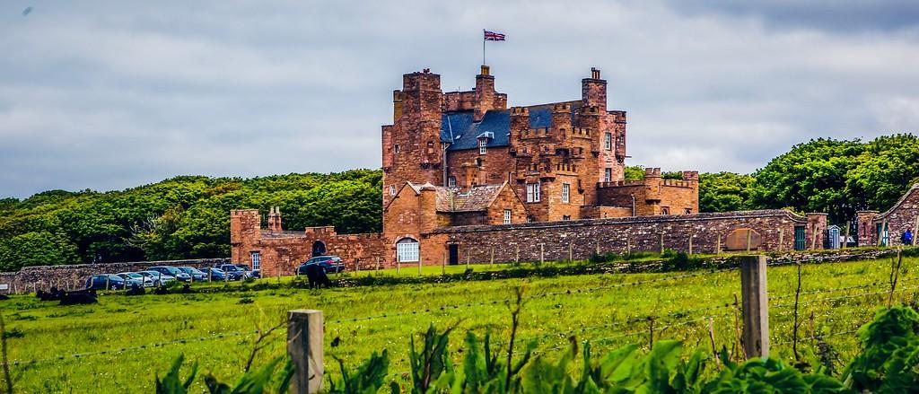 苏格兰梅城堡(Castle of Mey),十六世纪城堡_图1-17