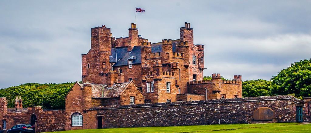 苏格兰梅城堡(Castle of Mey),十六世纪城堡_图1-21