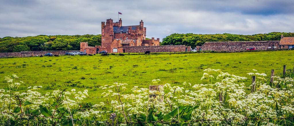 苏格兰梅城堡(Castle of Mey),十六世纪城堡_图1-23