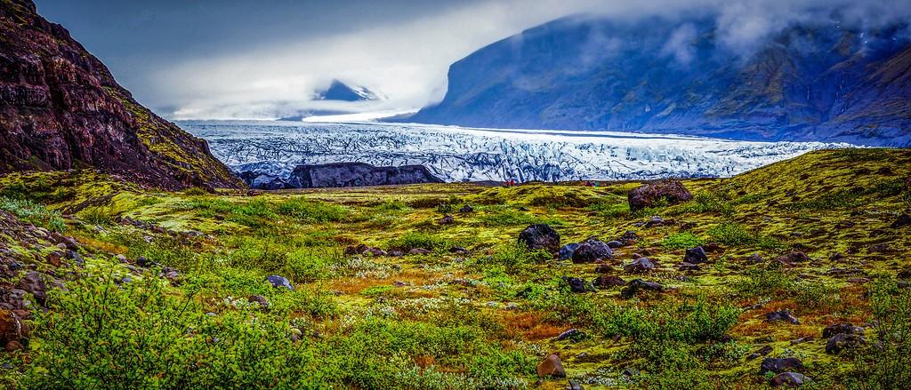 冰岛瓦特纳冰川(Vatna Glacier),很震撼_图1-2