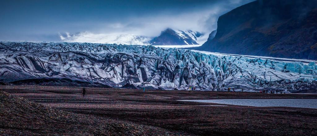 冰岛瓦特纳冰川(Vatna Glacier),很震撼_图1-1