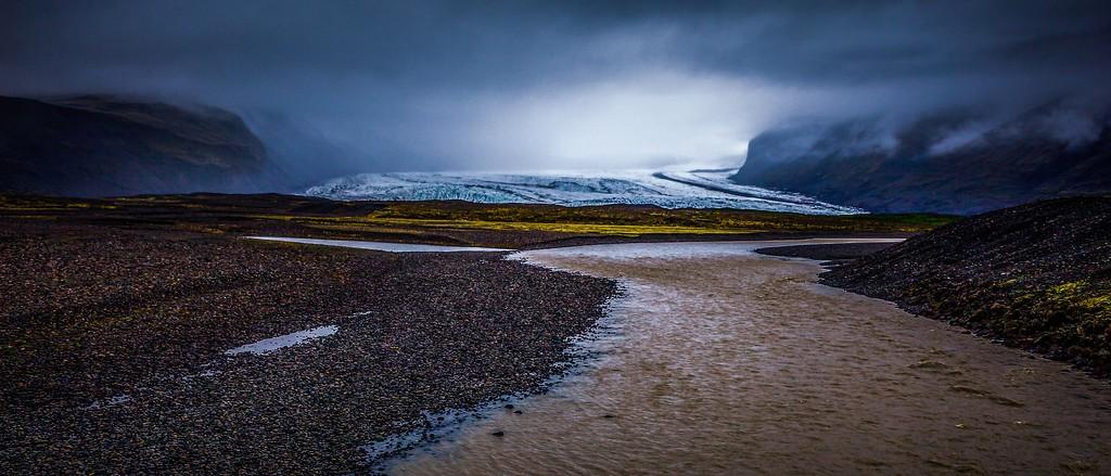 冰岛瓦特纳冰川(Vatna Glacier),很震撼_图1-3