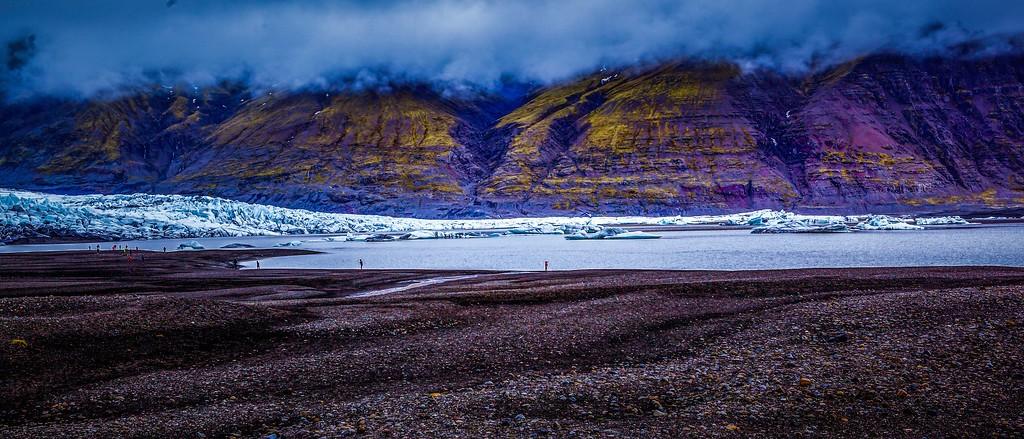 冰岛瓦特纳冰川(Vatna Glacier),很震撼_图1-4