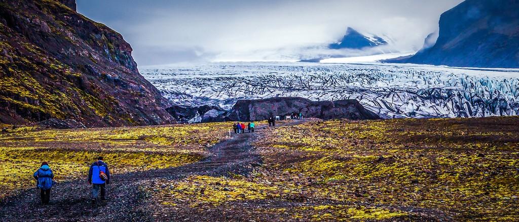 冰岛瓦特纳冰川(Vatna Glacier),很震撼_图1-5